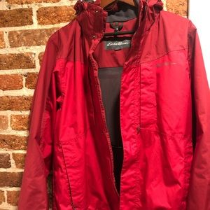 Eddie Bauer men's raincoat